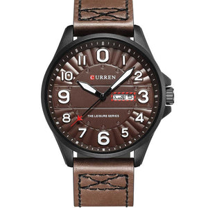 Classic Quartz Watches For Men Luminous Display