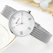 Load image into Gallery viewer, Luxury Mesh band stainless steel watches Waterproof Quartz wrist Watch