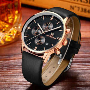 Chronograph Quartz Watches For Men Luminous Display