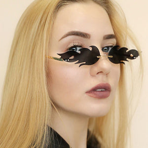 New Fashion  Fire Flame Sunglasses