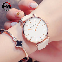 Load image into Gallery viewer, Ladies Watch High Quality Womens Leather Watches - Risen Fashion