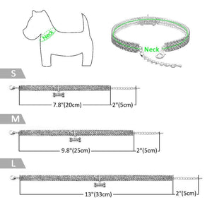 Dog & Cat Diamond Collar