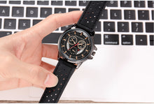 Load image into Gallery viewer, Mens Leather Watches Sports Watches For Men with Calendar - Risen Fashion