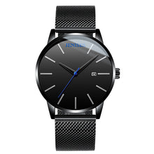 Load image into Gallery viewer, Unisex Fashion Stainless Mesh Band Watches with Calendar - Risen Fashion