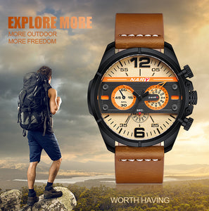 The Creative Fashion Quartz Watches Leather Strap - Risen Fashion