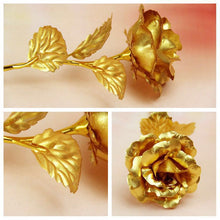 Load image into Gallery viewer, 24K Gold Rose - Risen Fashion