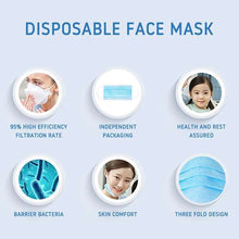 Load image into Gallery viewer, Disposable Sanitary Face Mask