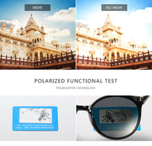 Load image into Gallery viewer, Trendy Vintage Polarized Sunglasses For Women Ladies UV400 Protection Eyeswear - Risen Fashion
