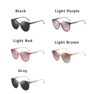 Trendy Vintage Polarized Sunglasses For Women Ladies UV400 Protection Eyeswear - Risen Fashion