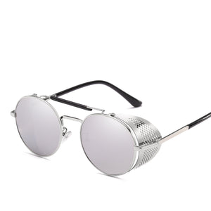 Retro  Sunglasses Steampunk Men Women Glasses