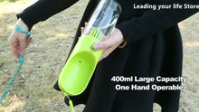 Load image into Gallery viewer, Portable Dog Water Bottle  400ml