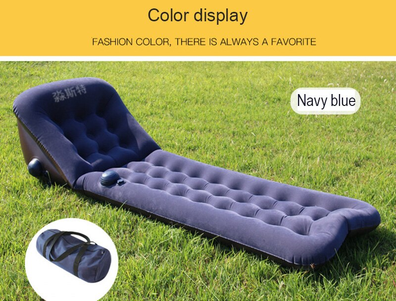 Portable   Inflatable Cushion Outdoor Camping Mat