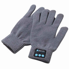 Load image into Gallery viewer, Unisex Winter Knit Warm Mittens Wireless Call Talking Gloves Mobile Phone Pad