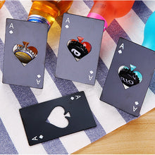 Load image into Gallery viewer, Poker Card Beer Bottle Openers