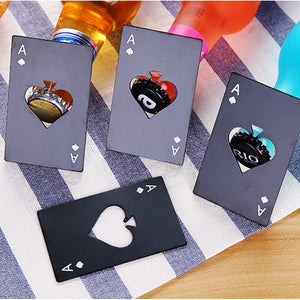 Poker Card Beer Bottle Openers