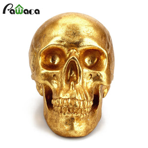 Resin Skull Crafts Money Boxes Piggy Bank