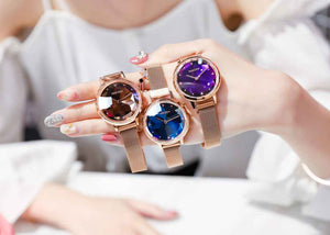 Luxury Crystal Watch