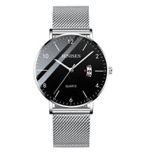Load image into Gallery viewer, Ultra Slim  Unisex Stainless Steel Mesh Band Quartz Wrist Watches - Risen Fashion