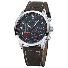 Load image into Gallery viewer, Classic Leather Strap Quartz Watches For Men