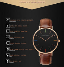 Load image into Gallery viewer, Unisex Man & Women's Watches Leather Strap Luxury Casual Ladies Watch - Risen Fashion
