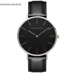 Unisex Man & Women's Watches Leather Strap Luxury Casual Ladies Watch - Risen Fashion