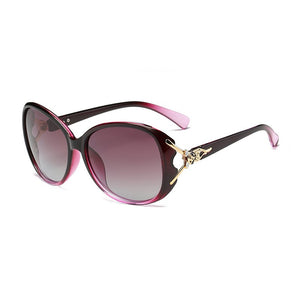 2018 New Polarized Sunglasses Lady Fox Head Sunglasses - Risen Fashion