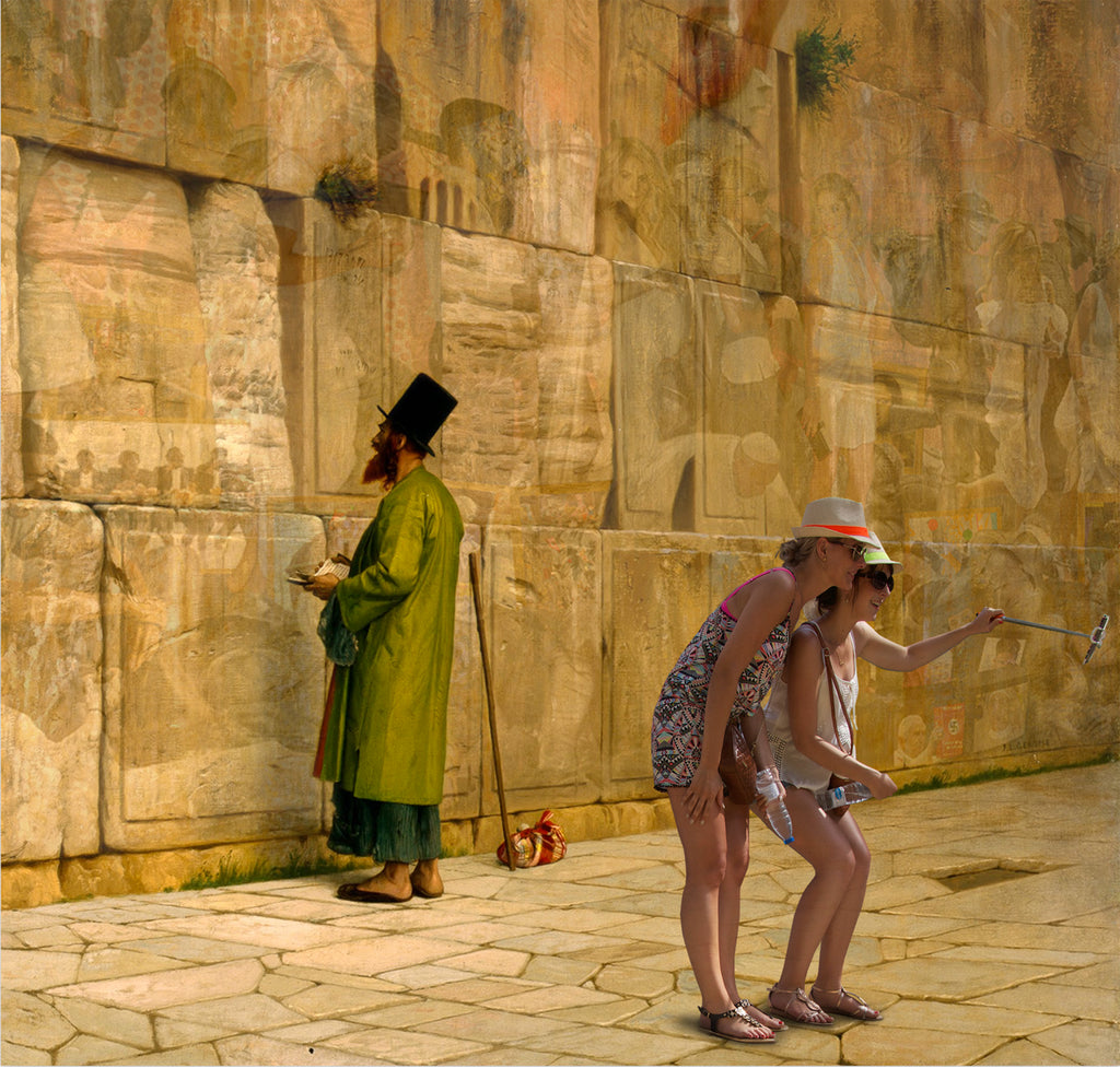 The Wailing Wall1880 J.L. Gerome