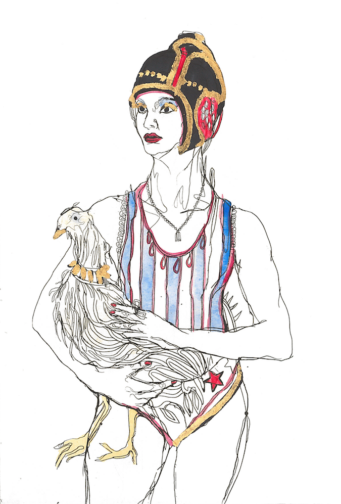 Elena Monzo Works on paper Chicken - Elena Monzo Works on paper Chicken - 5 Pieces Gallery - Contemporary Art & Photography