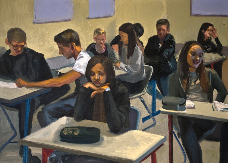 Federico Lombardo Painting Classroom - Federico Lombardo Painting Classroom - 5 Pieces Gallery - Contemporary Art & Photography