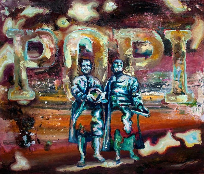 Florian Pelka Painting Popi - Florian Pelka Painting Popi - 5 Pieces Gallery - Contemporary Art & Photography