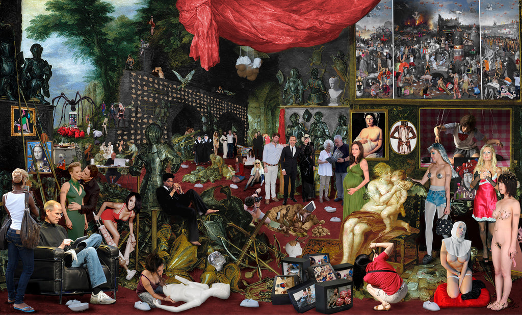Lluis Barba Touch. Jan Brueghel & Rubens