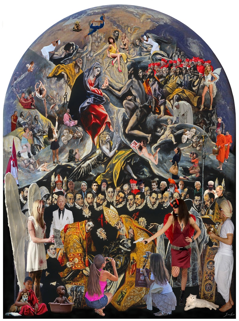 The burial of count Orgaz. El Greco