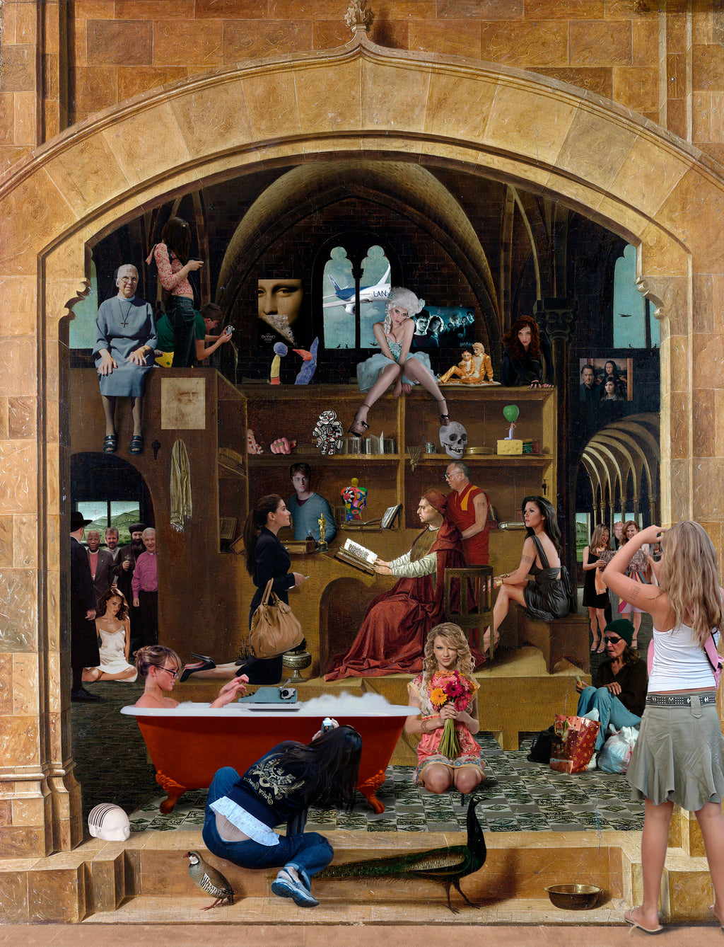 St. Jerome in his study. Antonello da Messina