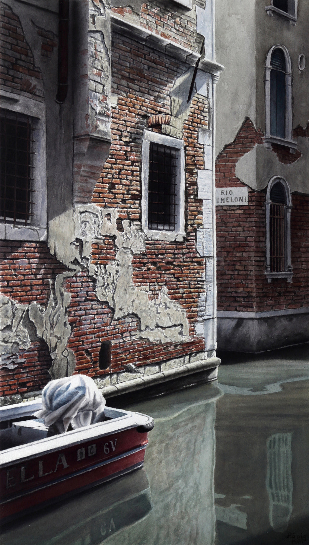 Manfred Hönig Painting Venedig Ella - Manfred Hönig Painting Venedig Ella - 5 Pieces Gallery - Contemporary Art & Photography