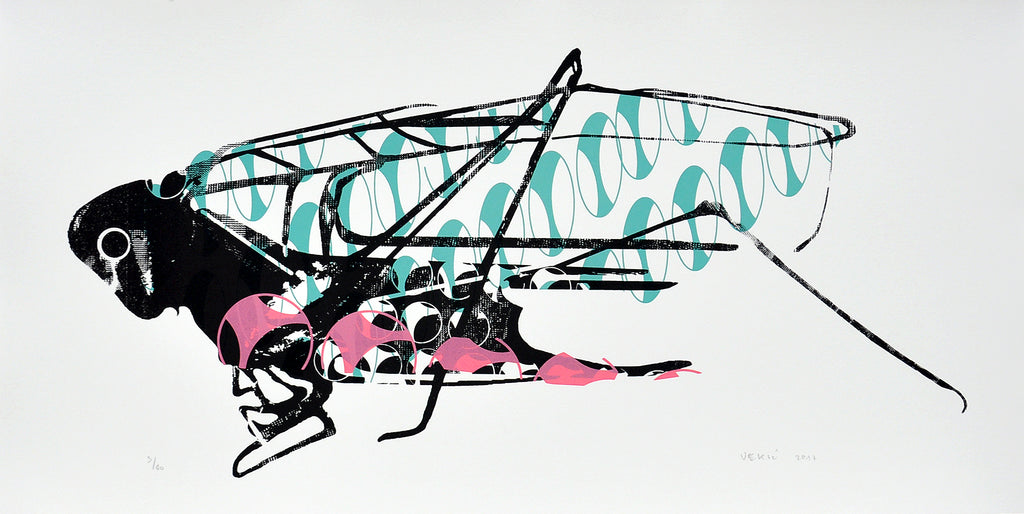 Matko Vekic Print Grasshopper #8 - Matko Vekic Print Grasshopper #8 - 5 Pieces Gallery - Contemporary Art & Photography