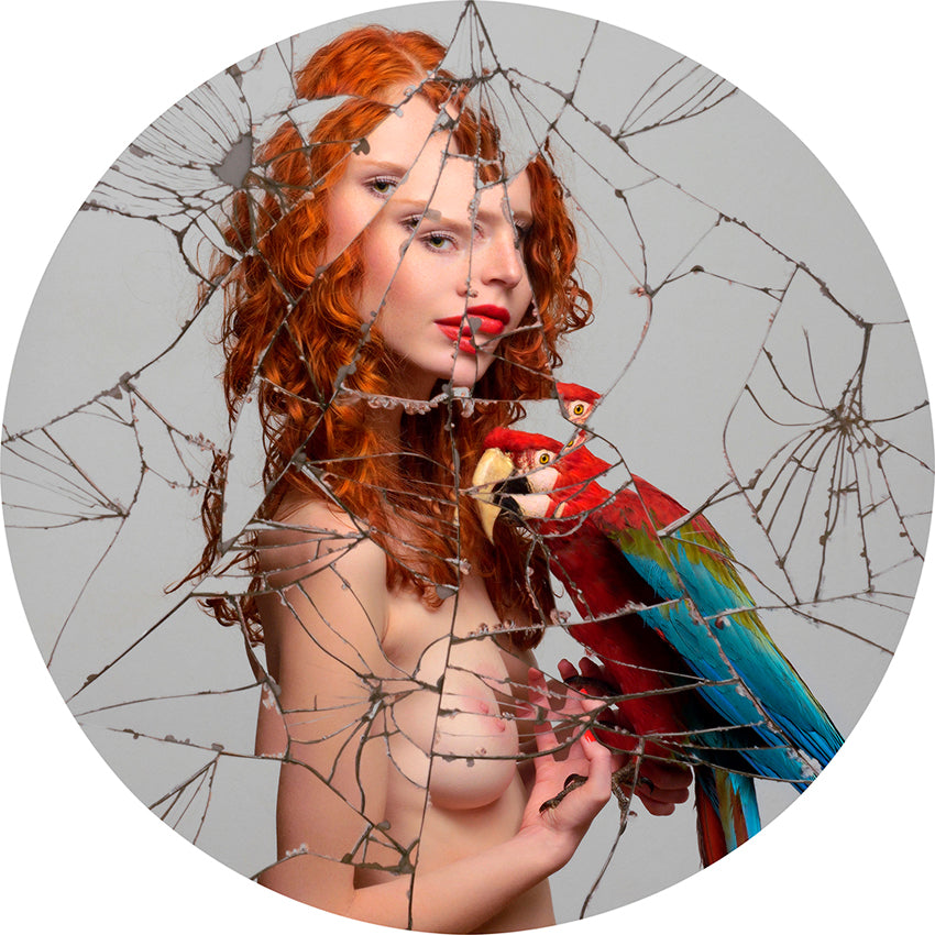 Torsten Solin Photography Untitled (Cordula with parrot) - Torsten Solin Photography Untitled (Cordula with parrot) - 5 Pieces Gallery - Contemporary Art & Photography