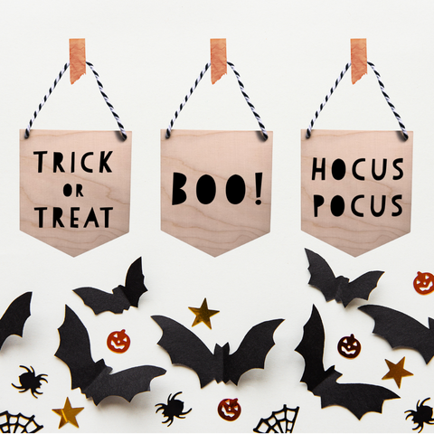 Sustainable halloween decor