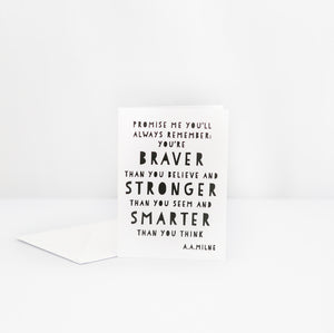 Always Remember Quote Card