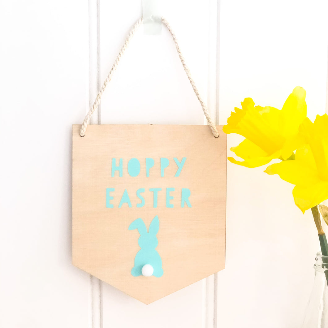 Hoppy Easter Wall Plaque