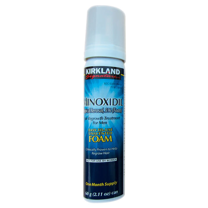 Kirkland 5% Minoxidil Extra Strength Foam Hair Loss and Hair Regrowth Treatment 1-Month