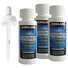 Kirkland 5% Minoxidil Extra Strength Liquid Hair Loss and Hair Regrowth Treatment 3-Month