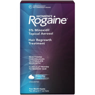 Women's Rogaine Hair Loss and Hair Regrowth Treatment 5% Minoxidil Foam 4-Month