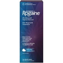 Women's Rogaine Hair Loss and Hair Regrowth Treatment 5% Minoxidil Foam 2-Month