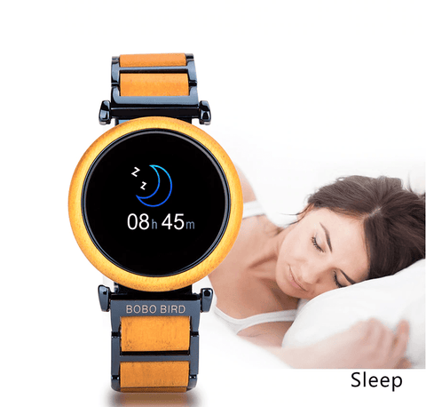 Touch Screen Wooden Watch For Men and Women in Wood Gift Box Jewelry & Watches Gadget Monkey