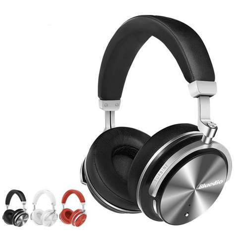 Image of Bluedio Bluetooth Headphones Active Noise Cancelling Wireless With Mic Tech Accessories Gadget Monkey