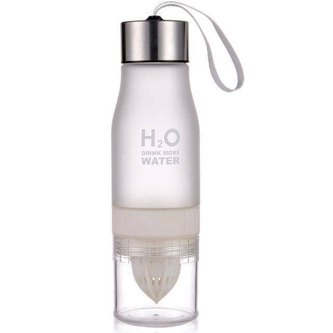 Image of Fruit Infusion Water Bottle (650ml) Home & Garden Gadget Monkey 0.65L White