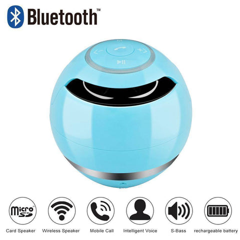 Image of Portable Wireless Bluetooth Speaker Ball Tech Accessories shopgadgetmonkey