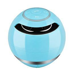 Portable Wireless Bluetooth Speaker Ball Tech Accessories shopgadgetmonkey blue