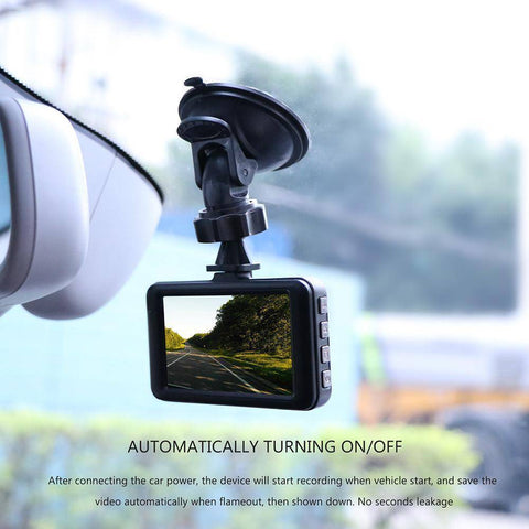 1080P Mini 3 inch Car DVR Camera 360 Rotation DashCam DVR Video Recorder Support Motion Detection/G-sensor Tech Accessories Gadget Monkey