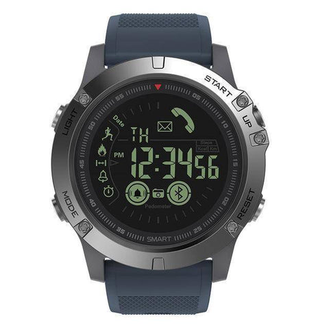 Rugged Waterproof Smartwatch and Fitness Tracker For IOS And Android Tech Accessories shopgadgetmonkey Slate